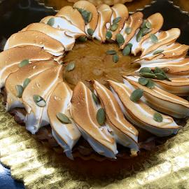 Pumpkin Tart by Lope Piamonte Jr - Food & Drink Cooking & Baking