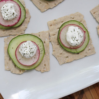 Cucumber Radish Appetizer Recipes