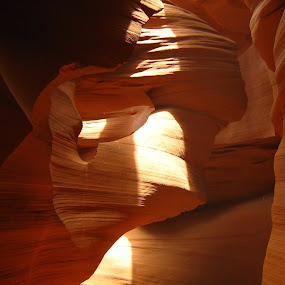Slot canyon by Sharon Verschelling - Landscapes Caves & Formations