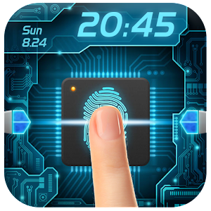 Fingerprint style lock screen for you. Funny app for prank. APK Icon