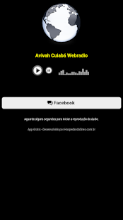 Avivah Cuiabá Webradio - screenshot