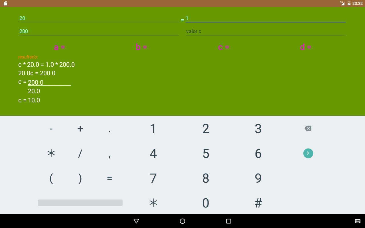 Calculator Board Screenshot 13