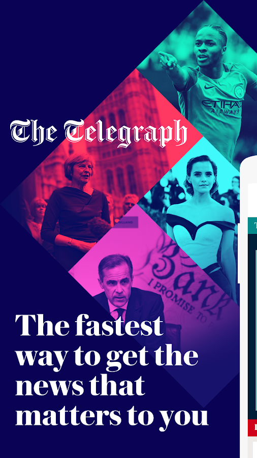 The Telegraph - Live News, Sport & Business Screenshot