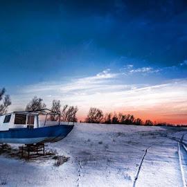 Sava river. by Darijan Mihajlovic - Landscapes Weather