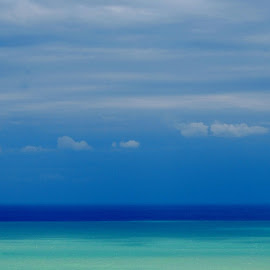 tones of blue by Oreana Tomassini - Landscapes Waterscapes (  )