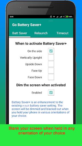 GO Battery Saver+ - screenshot