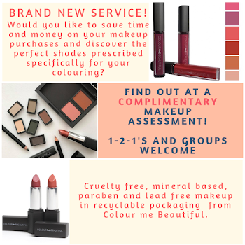 Complimentary makeup assessment