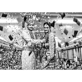 by Somdev Sengupta - Wedding Bride & Groom