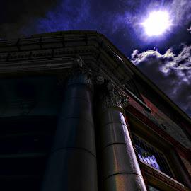 Columns by Derrill Grabenstein - City,  Street & Park  Markets & Shops (  )