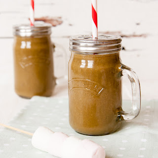 Healthier S'mores Smoothie