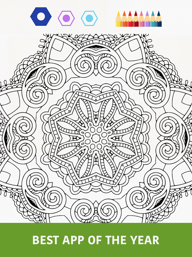 Colorfy - Coloring Book Free Screenshot 4