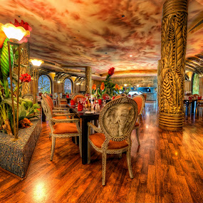 La palma restaurant  by Marko Gilevski - Buildings & Architecture Other Interior ( detail, hdr, african, colorful, nice, restaurant )