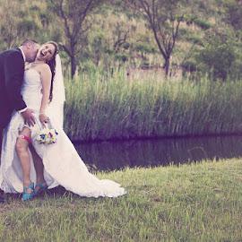 by Albert de Weerd - Wedding Bride & Groom