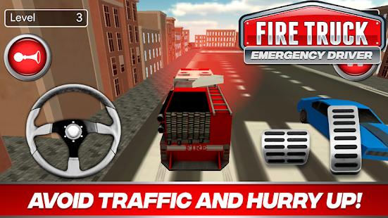 Fire Truck Driver Emergency 2018