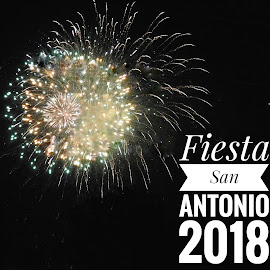 Fiesta time in San Antonio by Cathy Hood - Typography Captioned Photos