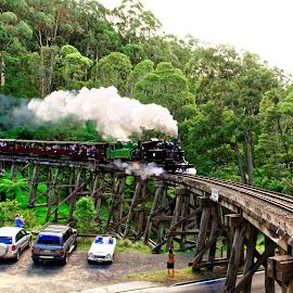 by RJ Photographics - Transportation Railway Tracks