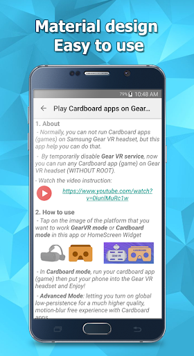Play Cardboard apps on Gear VR - screenshot
