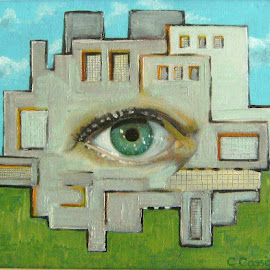 Observation by Christianna Cassisa - Painting All Painting ( surrealism, abstract art, art )