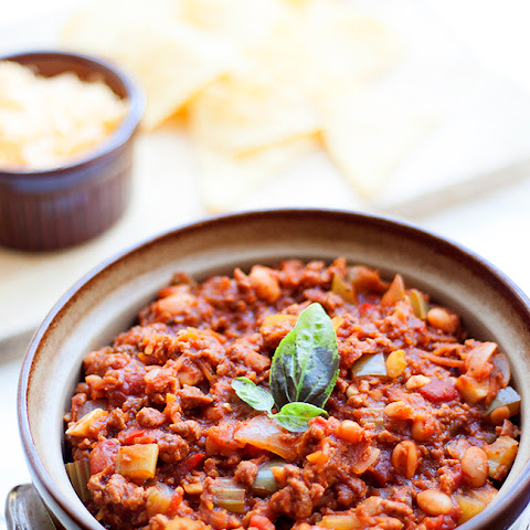 Homemade Vegetarian Chilli