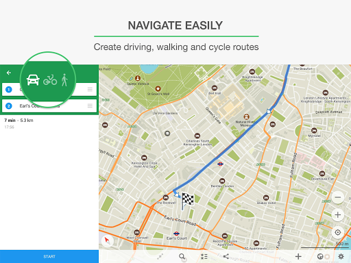 MAPS.ME – Map with Navigation and Directions screenshot 8