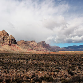 Red Rock Canyon by Diane Garcia - Landscapes Mountains & Hills ( las vegas, desert, red, mountain, red rock canyon, colors, nevada, brown, hiking )