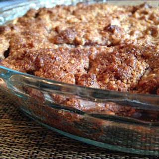 Maple Pecan Paleo Apple Crisp