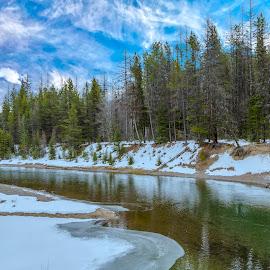 McDonald Creek by Janet Aguila Krause - Landscapes Travel ( mcdonald creek, montana, creek, glacier national park )