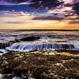 Dark cloud by Arek Embongan - Landscapes Sunsets & Sunrises