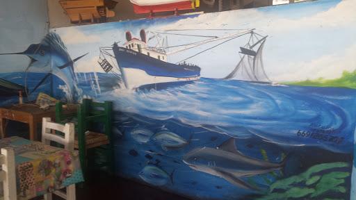 Mural Barco Chepina