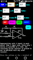 Screenshot of Pos Gain Op Amp Tutorial