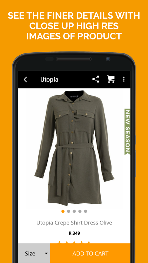 Zando Fashion Online Shopping Screenshot 3