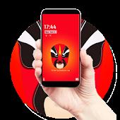 App Peking opera mask red theme APK for Windows Phone