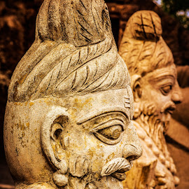 Indian Sculptures by Bhanu Sarathy - Buildings & Architecture Statues & Monuments