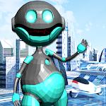 Talking Robot Icon