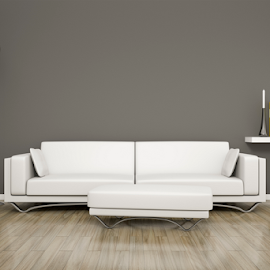 room and sofa by Markus Gann - Illustration Products & Objects ( nobody, interior, home, decorative, residential, bright, illustration, apartment, house, architecture, space, parquet, modern, real, sofa, style, lifestyle, grey, plain, leather, light, copy, books, blank, minimalism, white, table, living, rendering, luxury, new, cosy, wooden, copy-space, couch, floor, 3d, contemporary, background, brown, design, wall, estate, room )