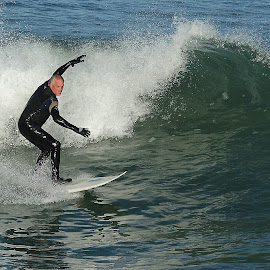 Surf in San Giego by Gérard CHATENET - Sports & Fitness Surfing