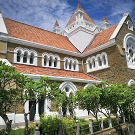 Anglican church by Zeljko Kliska - Buildings & Architecture Places of Worship ( religion, building, church, travel, sri lanka, architecture, city )