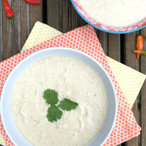 Thai Cauliflower Cashew Soup