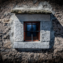 stone window by Robert Hočevar - Buildings & Architecture Architectural Detail ( old, windows )