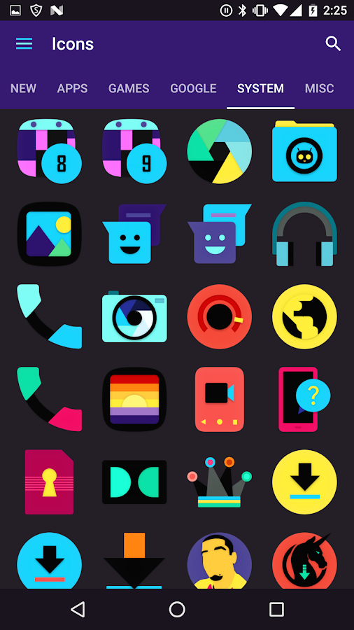 Atomic Icon Pack Screenshot 9