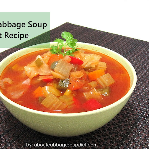 Cabbage Soup Recipe for 7-Day Diet Plan