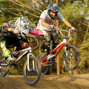 BMX race by Dino Dion - Sports & Fitness Cycling