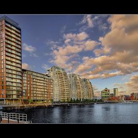 by Stephen Hooton - City,  Street & Park  Neighborhoods ( quays, places )