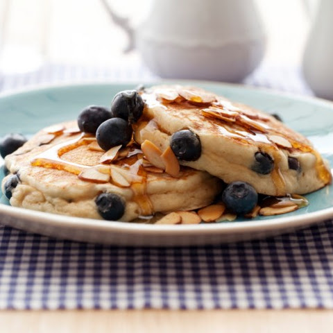 Blueberry-Almond Griddle Cakes
