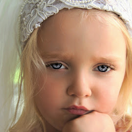 Reluctant Princess Bride by Cheryl Korotky - Babies & Children Child Portraits