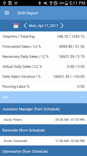 SMART Systems Pro-SMART Shift Business app for Android Preview 1