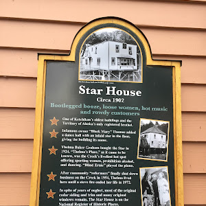 The Star dance hall and brothel, early 1900sStar House Circa 1902Bootlegged booze, loose women, hot music and rowdy customers- One of Ketchikan's oldest buildings and the Territory of Alaska's only ...