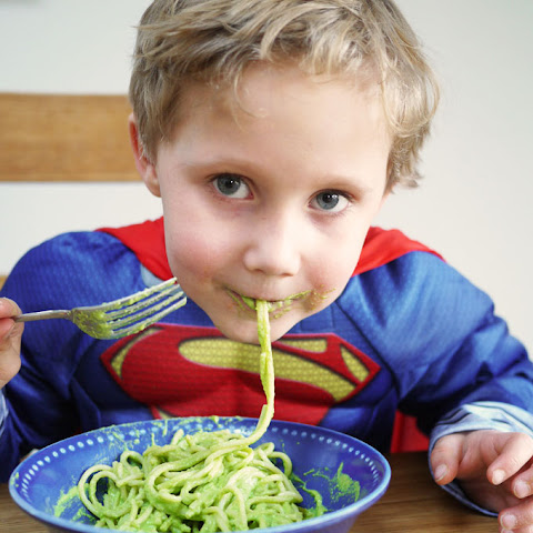 Superhero Hidden Vegetable Pasta Sauce