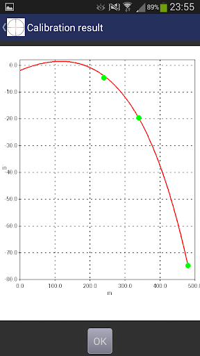 Exterior Ballistics Calculator - screenshot