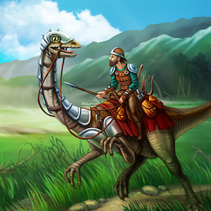 APK Game The Ark of Craft: Dinosaurs for BB, BlackBerry